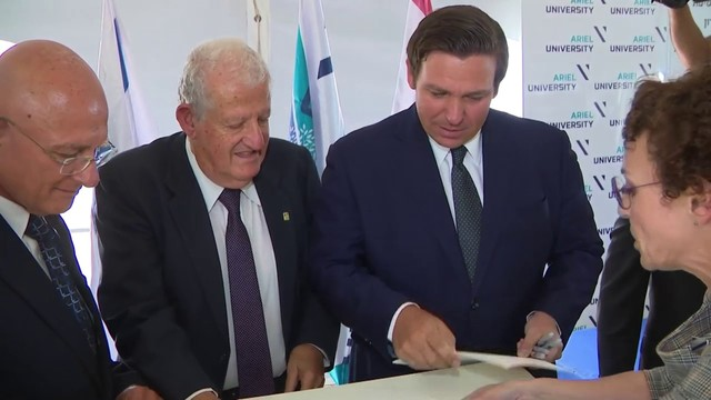 Gov. Ron DeSantis launches trade, tourism offensive in Israel