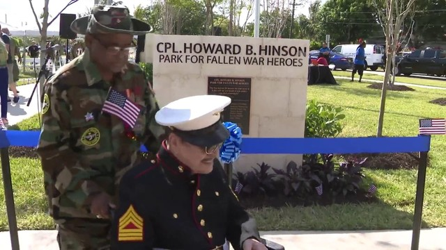North Miami Beach names park after WWII veteran who gave his life
