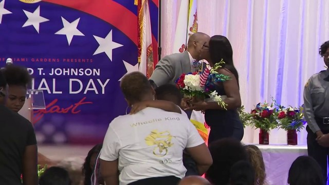 Miami Gardens honors hometown hero La David Johnson