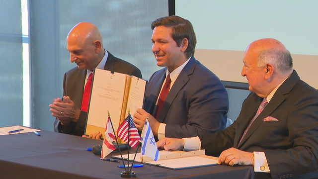DeSantis, Florida Cabinet hold historic meeting in Israel