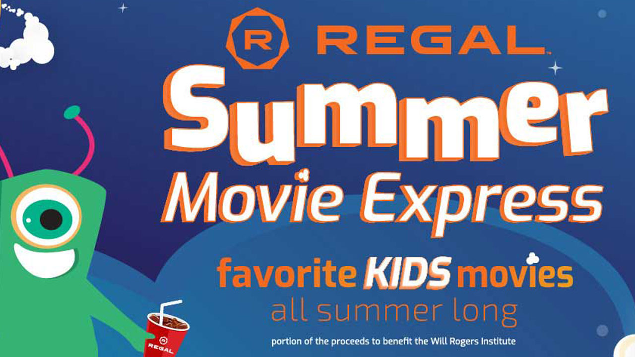 Regal Cinemas offering $1 movies for families all summer long