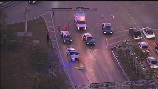 Bicyclist struck, killed on entrance ramp to Golden Glades Interchange