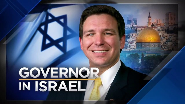 Gov. Ron DeSantis meets with Netanyahu in Israel