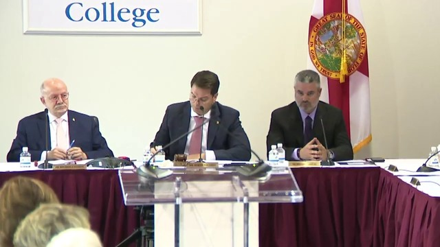 Miami Dade College board updates public on search for president