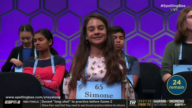South Florida student, 13, slays at Scripps National Spelling Bee