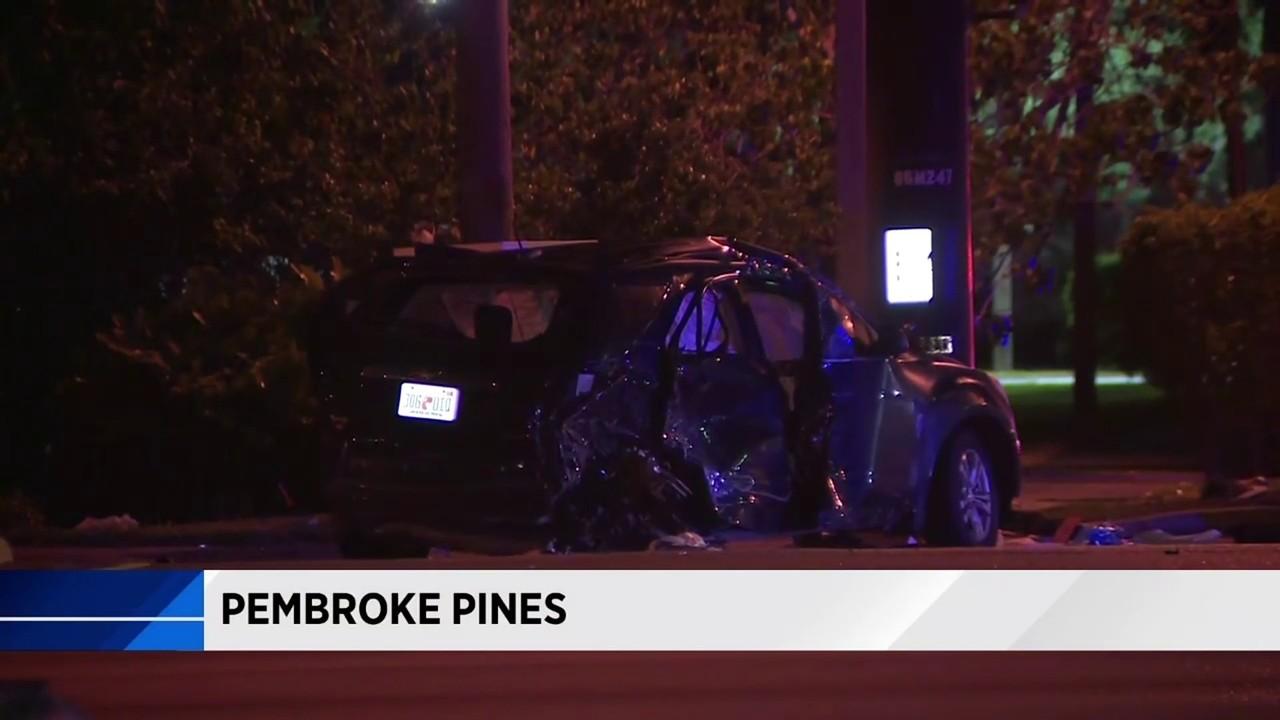 Crash leaves 2 women from Miramar injured in Pembroke Pines