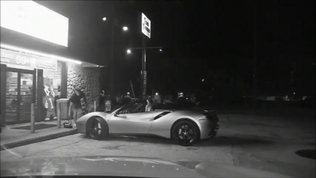 Dashcam video shows Ferrari driver being arrested on Plantation Key