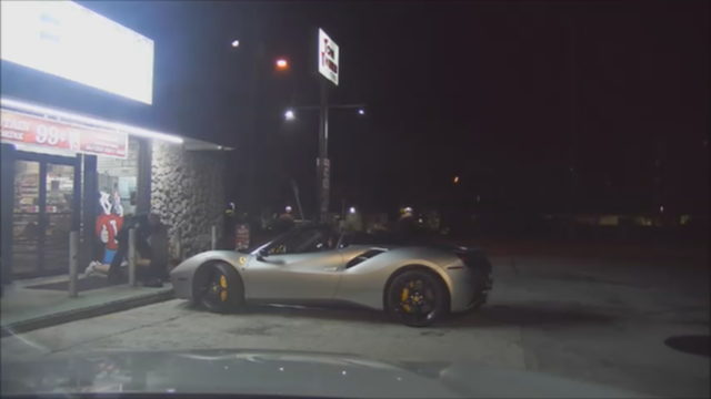 Dashcam video shows arrest on speeding Ferrari driver in Keys, deputies say