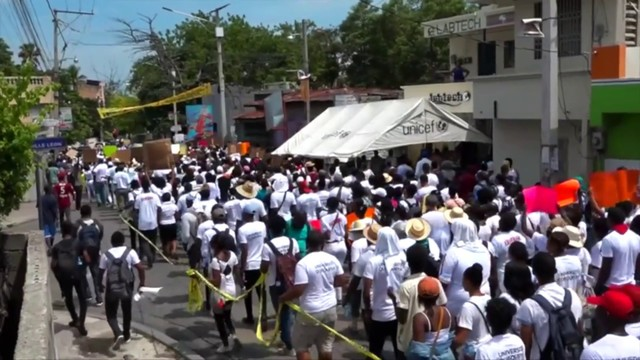 Haitian students protest rise in sexual assaults at university