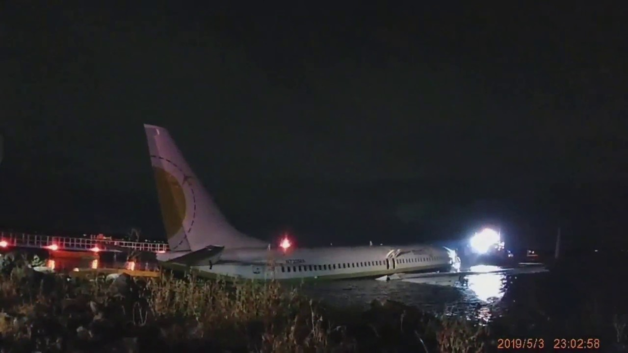 Bodycam video provides new look at Boeing 737 that skidded into St. Johns River