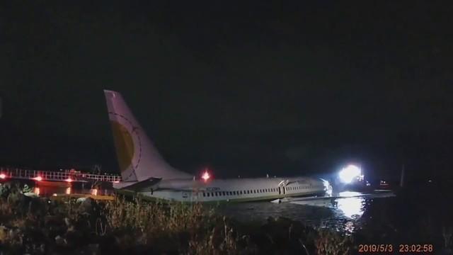 Bodycam footage of jet
