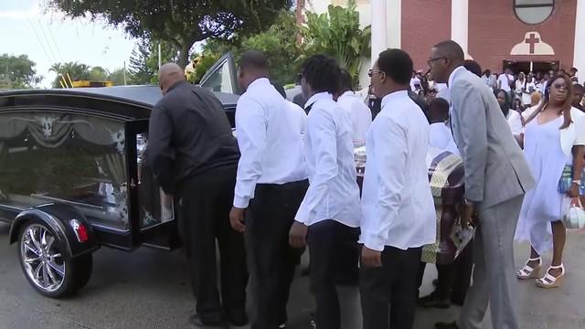 Funeral held for slain teen