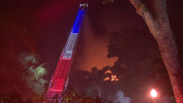 Mansion in Coral Gables goes up in flames