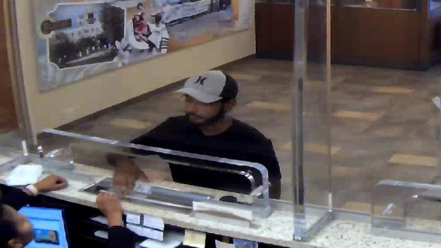 Bank robber claimed he had explosive device while demanding money