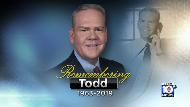 Local 10 News family mourns loss of Todd Tongen