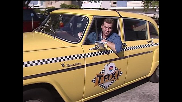 """The perfect match: Todd Tongen and the """"10 Taxi"""""""