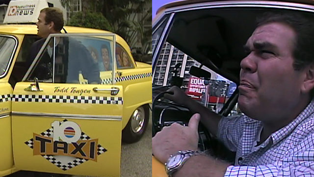 Todd Tongen drove '10 Taxi' to become South Florida icon