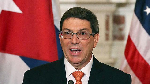 Cuban foreign minister urges US-Cuba talks