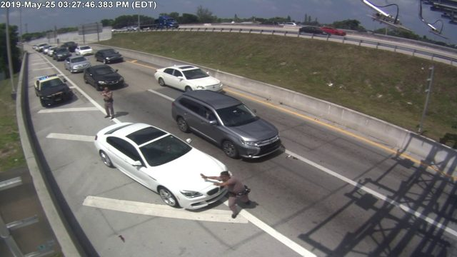 Man accused of striking FHP trooper with BMW arrested in New York