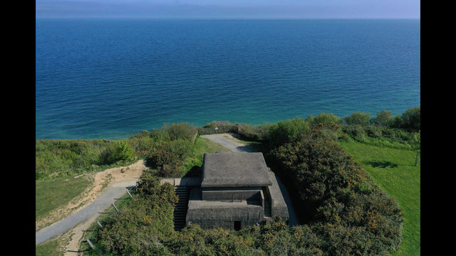 Photos: Aerial views of D-Day Normandy landmarks