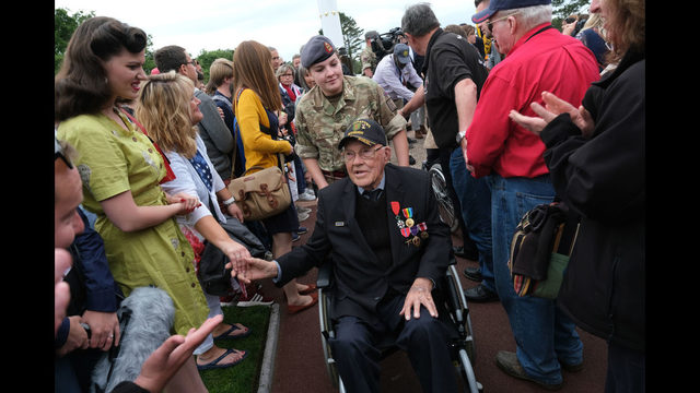 Photos: U.S. Veterans commemorate D-Day 75th anniversary in Normandy