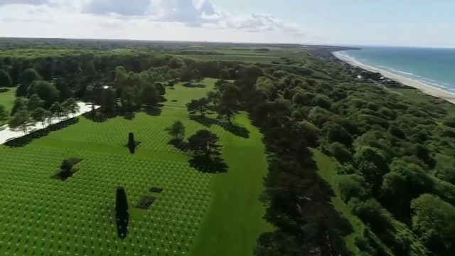 Resting place of D-Day's fallen heroes is vivid reminder of sacrifice