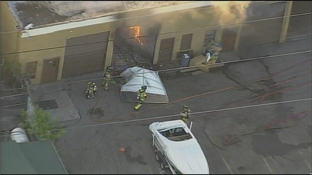 Fire erupts at Hialeah Gardens warehouse