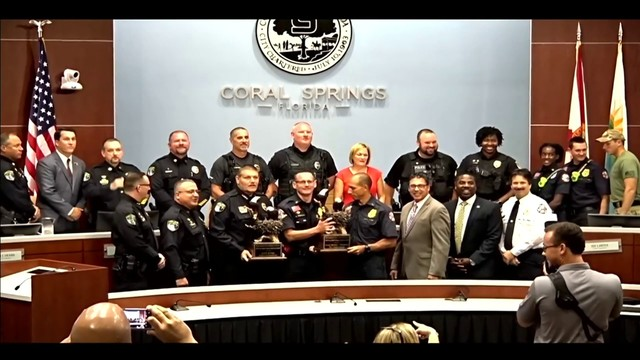 Coral Springs first responders honored for actions taken during Parkland…