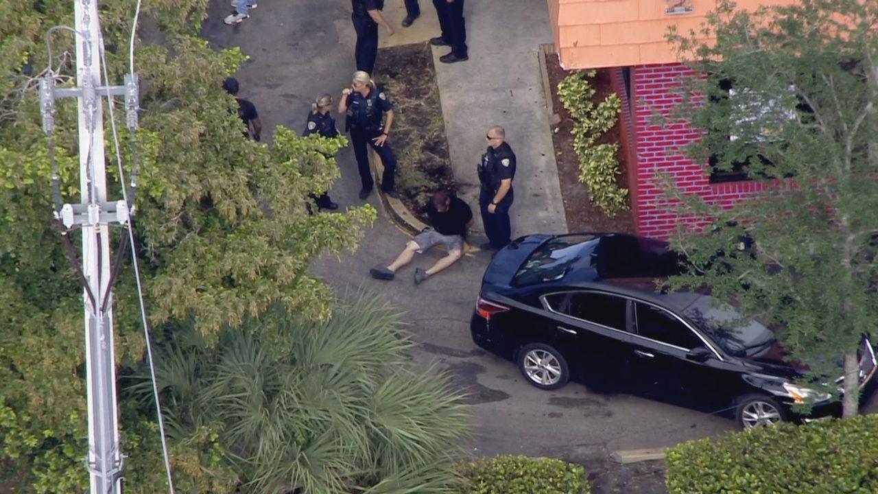 Police chase involving Corvette ends in Pompano Beach