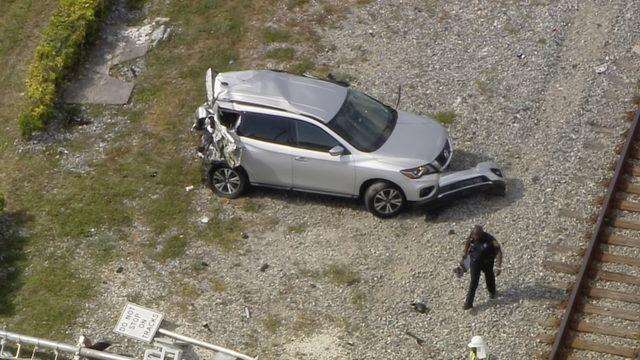 Train formerly known as Brightline crashes into SUV in North Miami