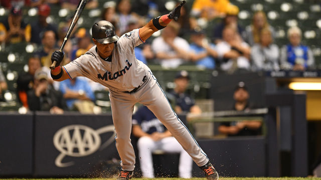 Anderson hits grand slam as Marlins top Brewers