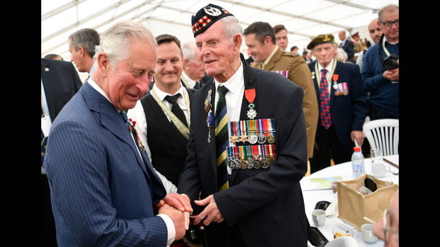 Photos: British Royal Legion holds D-Day 75th anniversary ceremony in Bayeux