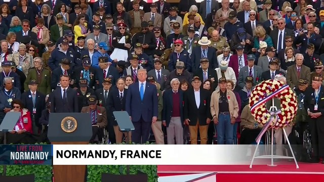 President Trump, other world leaders mark D-Day's 75th anniversary in Normandy