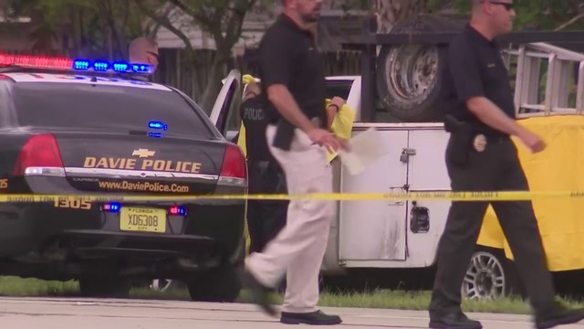 1 dead, 1 injured after exchange of gunfire in Davie, police say
