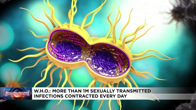 One in every 25 has sexually transmitted disease, WHO researchers say