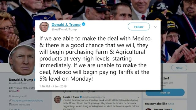 Trump still at odds with some GOP lawmakers over Mexico tariff threats