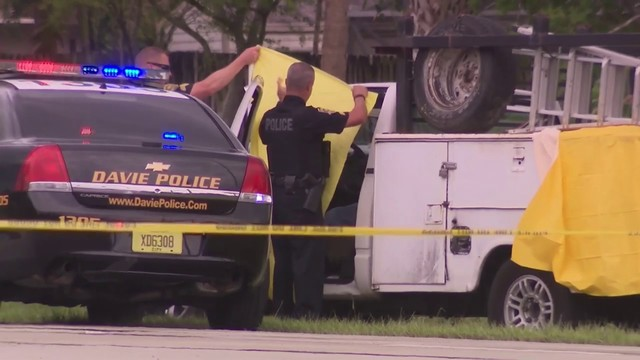 Police investigate after possible road-rage shooting in Davie