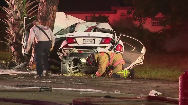 Crash in Opa-Locka