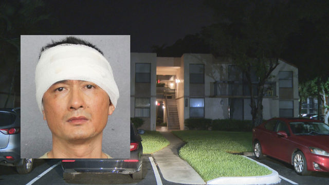 Man barricades himself inside apartment after killing wife, police say