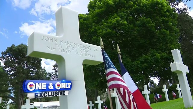 Local 10 finds cross in Normandy marking burial site of South Florida…