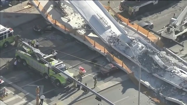 Report finds road should have been closed before FIU bridge collapse
