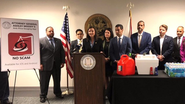 Attorney general launches new app to fight price gouging