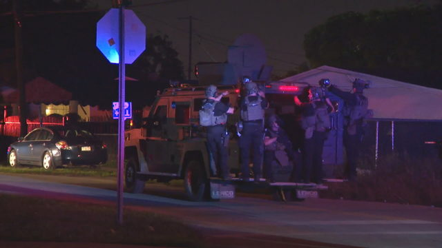 Police officers fired upon after traffic stop in Opa-locka