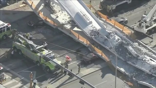 NTSB report indicates signs of trouble days before FIU bridge collapse