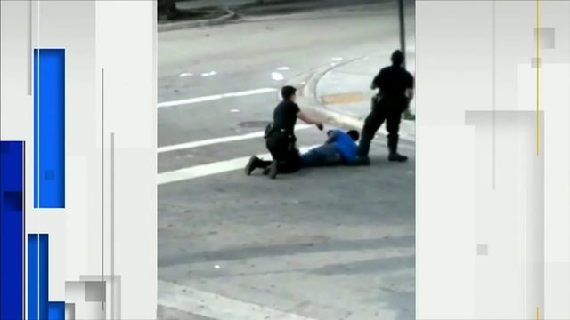 Officer accidentally stuns partner with Taser, video shows