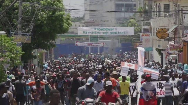 Haitian protesters demand President Jovenel Moïse's ouster