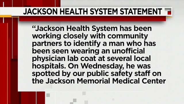 Investigation underway after man accused of posing as doctor at local hospitals
