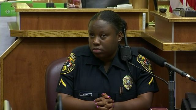 Officer nearly derails North Miami officer's retrial