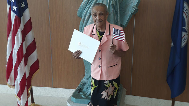South Florida woman becomes U.S. citizen at 103