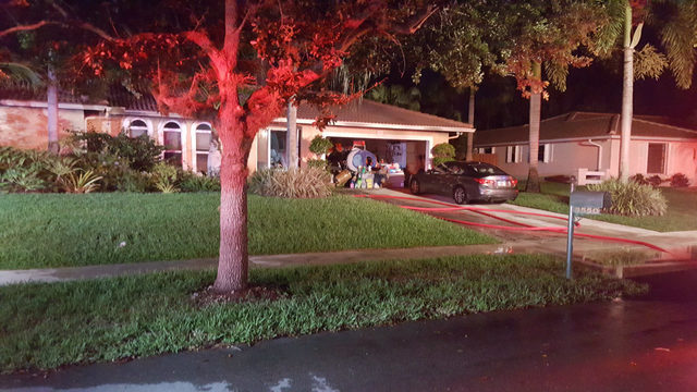 2 dogs, cat die in Plantation house fire